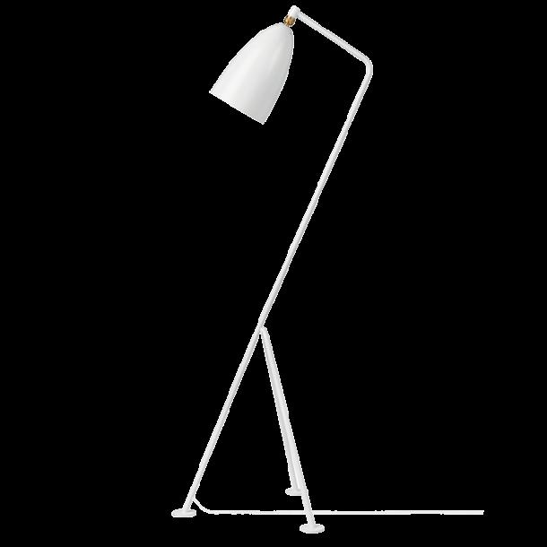 GUBI Grossman Gräshoppa floor lamp matt white