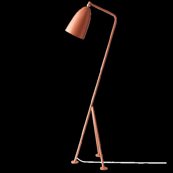 GUBI Grossman Gräshoppa floor lamp Vintage red