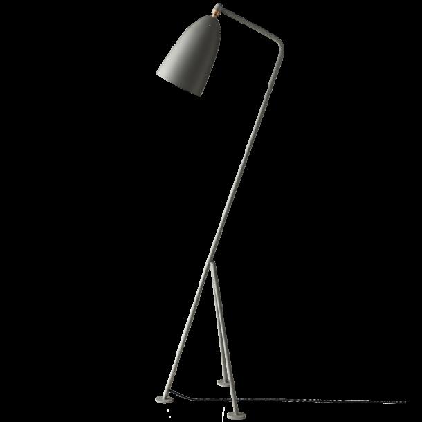 GUBI Grossman Gräshoppa floor lamp Blue-grey