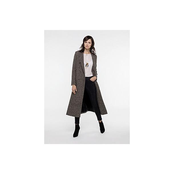 Patrizia Pepe Uld mix frakke