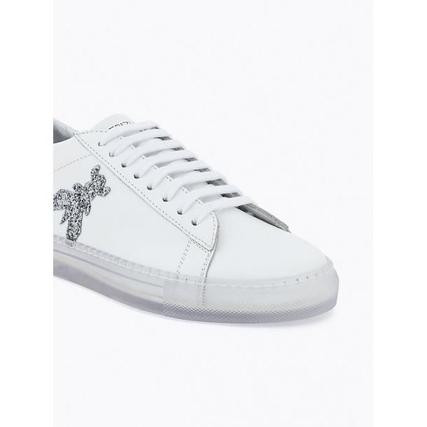 Patrizia Pepe sneakers i Hvid A2GX