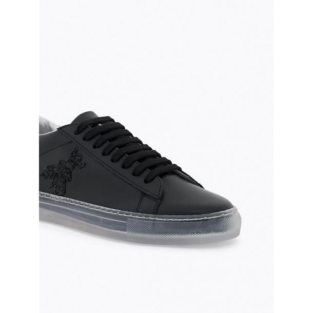 Patrizia Pepe sneakers i sort