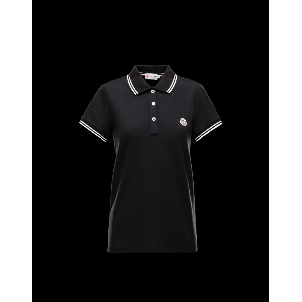 Moncler Polo shirt i Blå