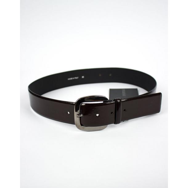 Maxmara - Rafia belt dark brown ONLINE RABAT