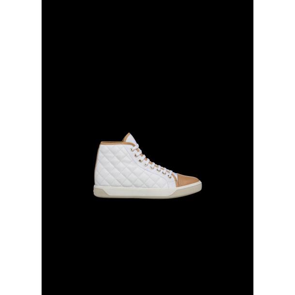 Moncler Fritids sko i hvid / Beig