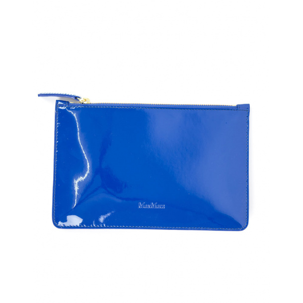 Maxmara clutch blue ONLINE RABAT