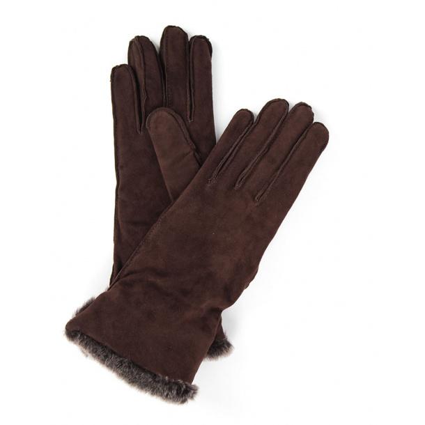 Maxmara - Jutta gloves brown ONLINE RABAT