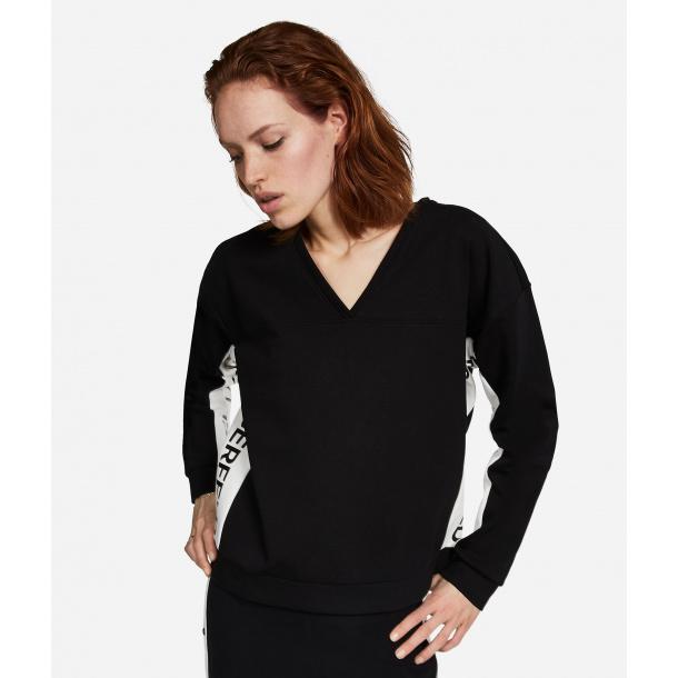Karl Lagerfeld V-neck sweatshirt