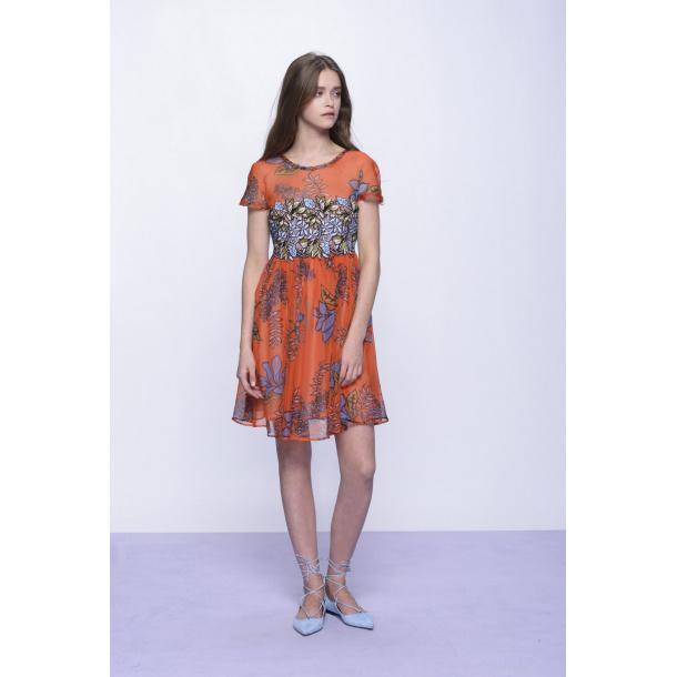 Pinko Dress With a floral Desgin
