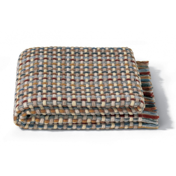 Missoni jocker plaid wool, warm colours