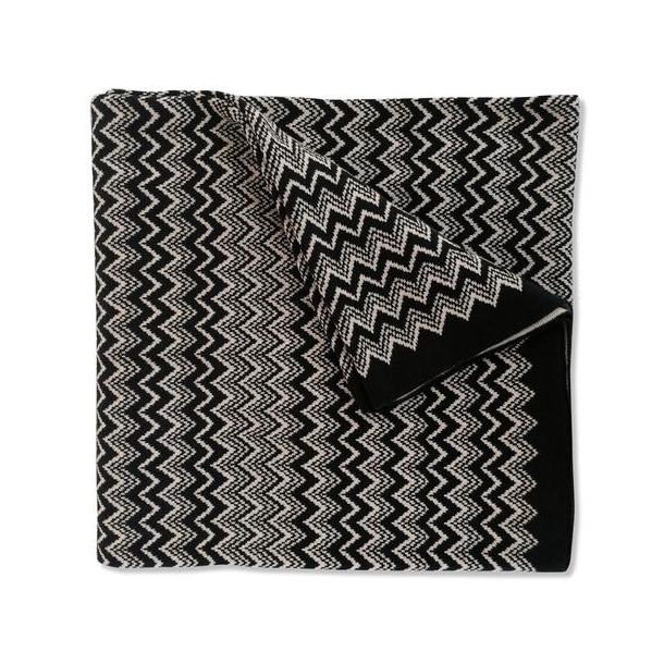 Missoni ridley plaid cotton, black/creme