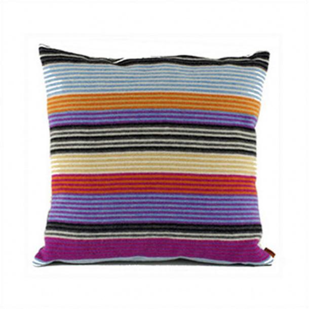 Missoni erode pillow wool, Purple/orange