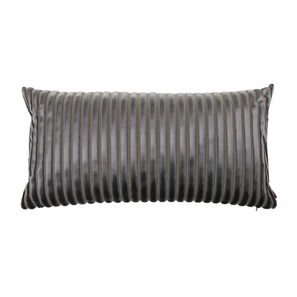 Missoni coomba pillow suede, grey.