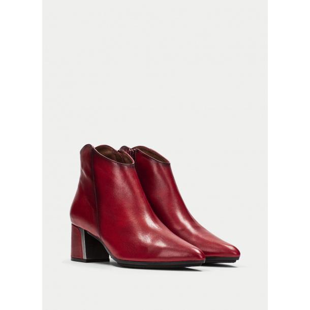 HS Læder støvler i rød