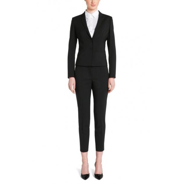Hugo Boss haluna bukser i sort