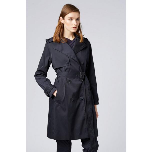 Boss trench coat i blå