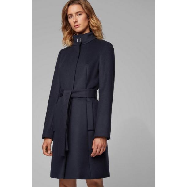 Hugo Boss Casenosa frakke med bælt uld / Cashmere